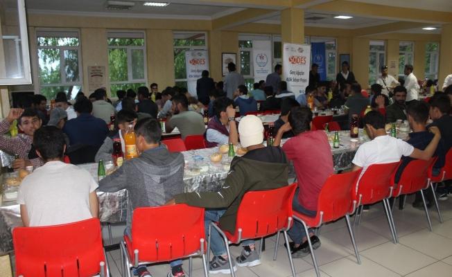 Gevaş Gençlik Merkezinden gençlere iftar programı