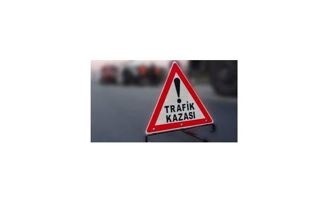 Hakkari'de trafik kazası: 1 ölü, 1 yaralı
