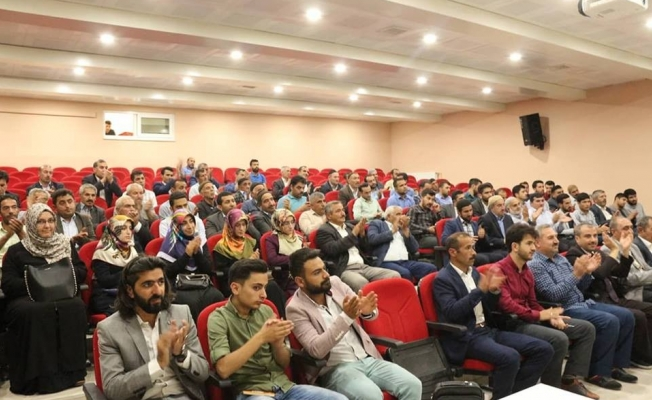 Kaymakamı Mehmet  Özcan, din görevlileriyle bir araya geldi