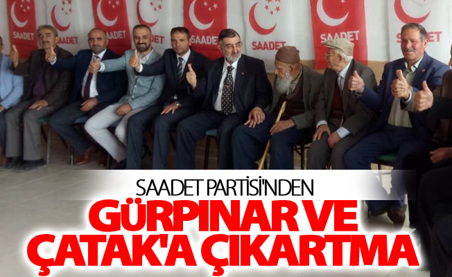 Saadet Partisi'nden Gürpınar ve Çatak'a çıkartma