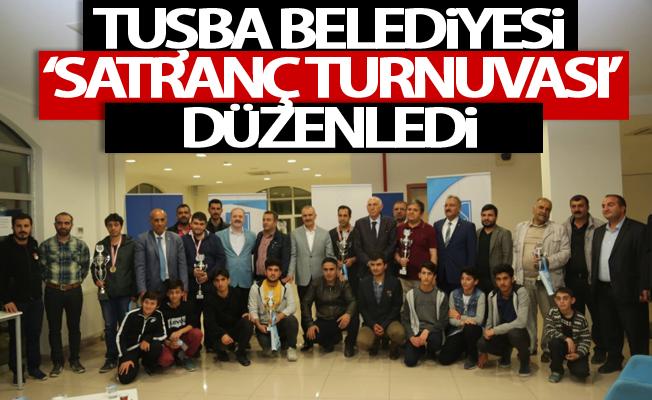 Tuşba Belediyesi 'Satranç turnuvası' düzenledi