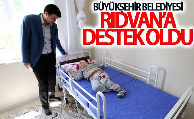 Van Büyükşehir Belediyesinden Rıdvan'a destek