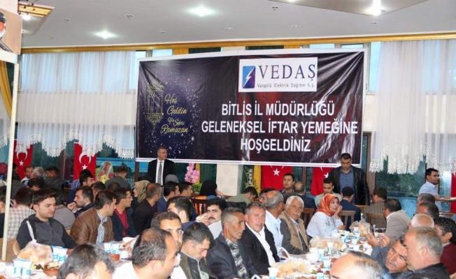 Vedaş iftar programı düzenledi