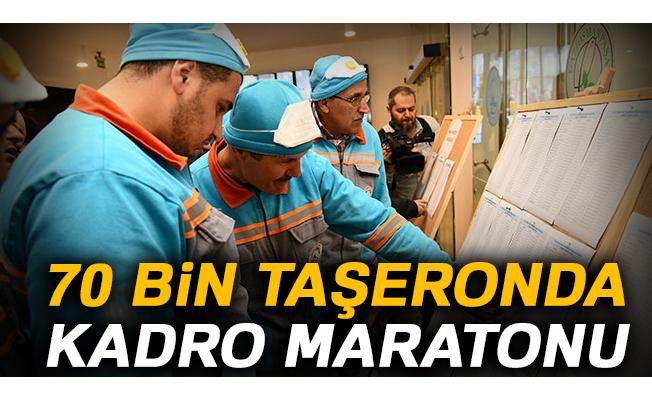 70 bin taşeronda kadro maratonu