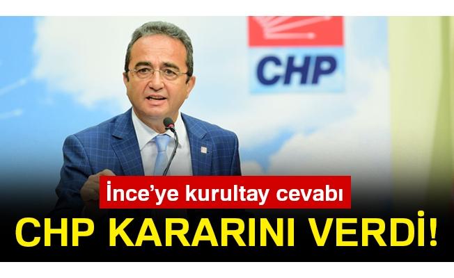 CHP kararını verdi!