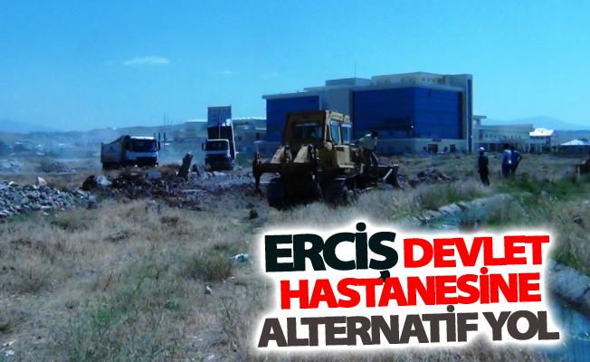 Erciş Devlet Hastanesine alternatif yol