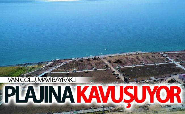 Ulusal Mavi Bayrak Ödülü'ne layık görülen halk plajı açılışa hazır