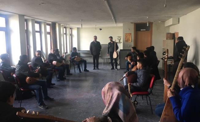 Van Kültür ve Turizm Müdürlüğünün kursları sona erdi