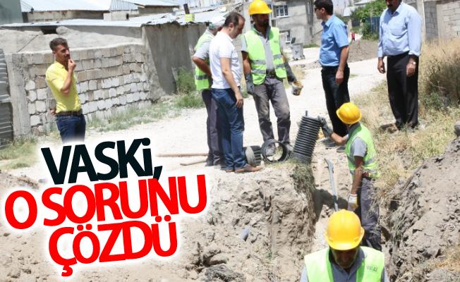 VASKİ, İŞGEM'deki atık su sızıntısını çözdü