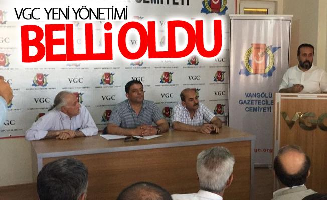 VGC  yeni yönetimi belli oldu