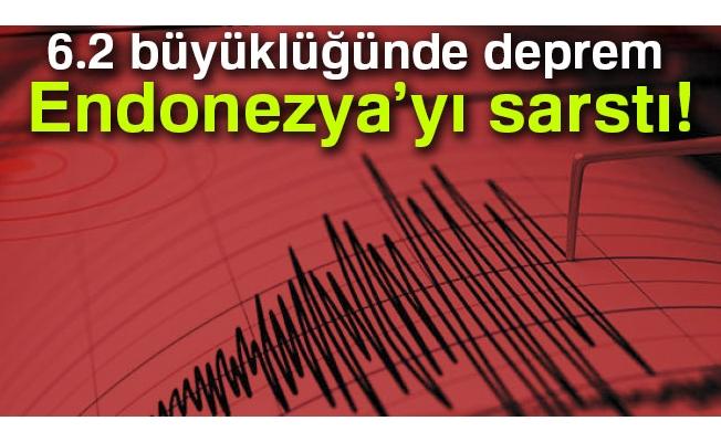 6.2 büyüklüğünde deprem!