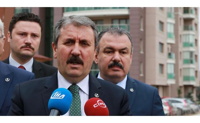 BBP Genel Başkanı Destici'den 'idam cezası' açıklaması