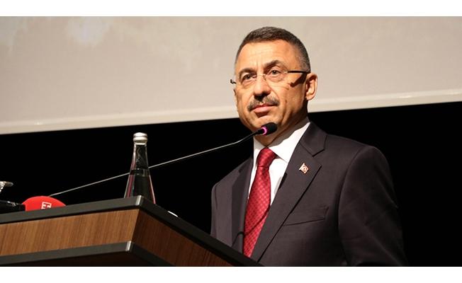Cumhurbaşkanı yardımcısı Fuat Oktay'dan ABD'ye tepki