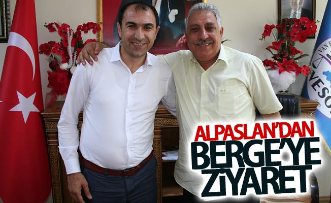 Faruk Alpaslan'dan Başkan Berge'ye ziyaret