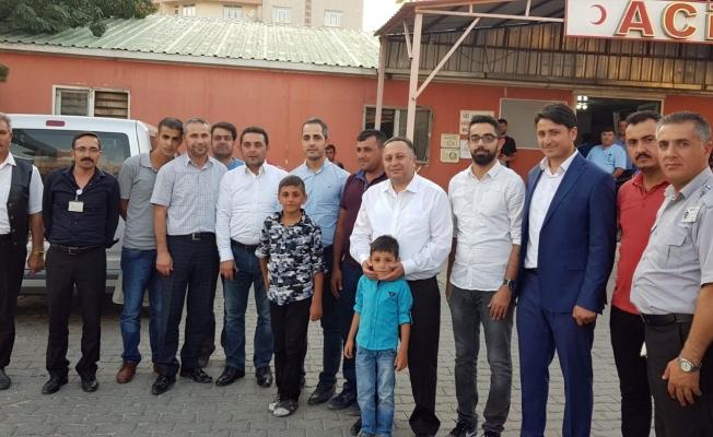 İl Sağlık Müdürü Akdoğan'dan bayram ziyaretleri