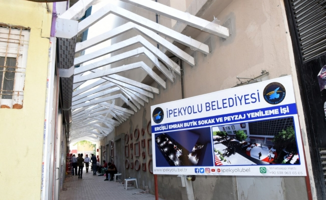 İpekyolu Belediyesi bir sokağa daha el atıyor