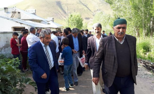 İran sınırında geleneksel bayramlaşma