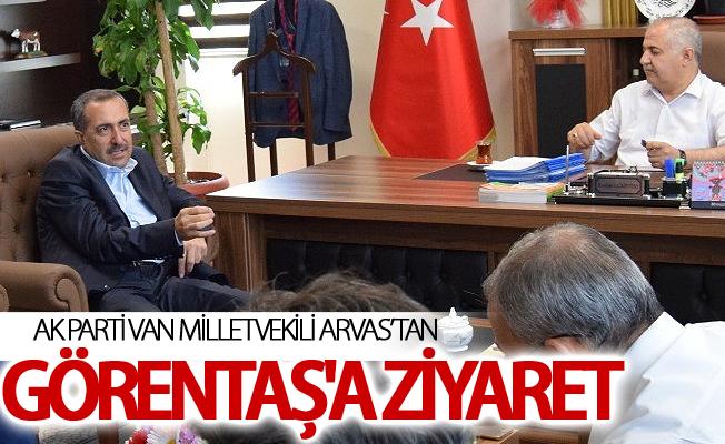 Milletvekili Arvas'tan Görentaş'a ziyaret