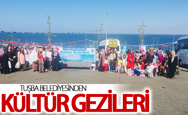 Tuşba Belediyesinden kültür gezileri