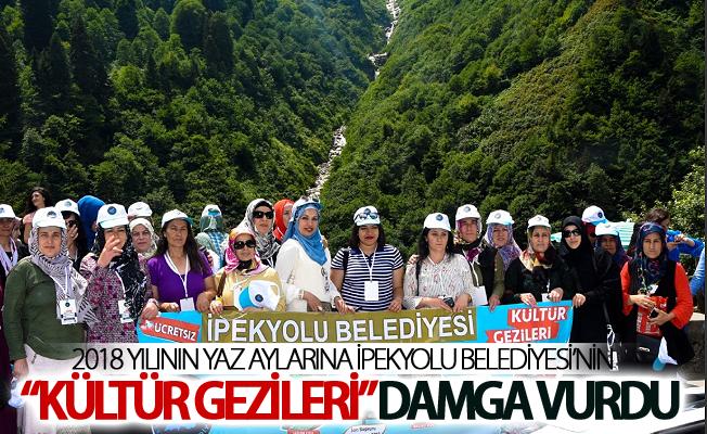 2018  Yılının Yaz aylarına İpekyolu Belediyesi'nin Kültür Gezileri damga vurdu
