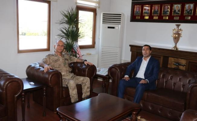 Başkan Kahraman'dan Tümgeneral İlbaş'a hayırlı olsun ziyareti