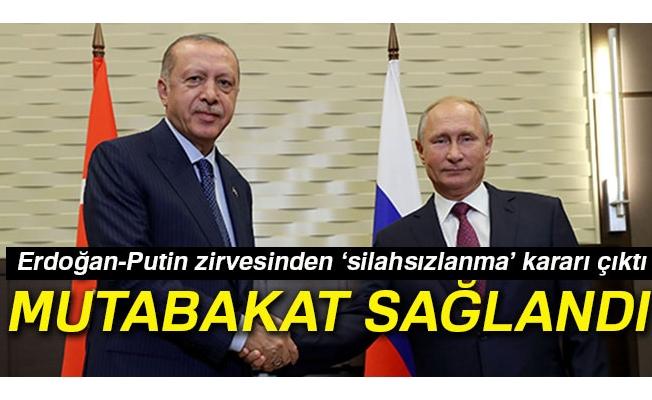 """Cumhurbaşkanı Erdoğan: """"İdlib'te muhalifler bulundukları alanda kalmaya devam edecek"""""""
