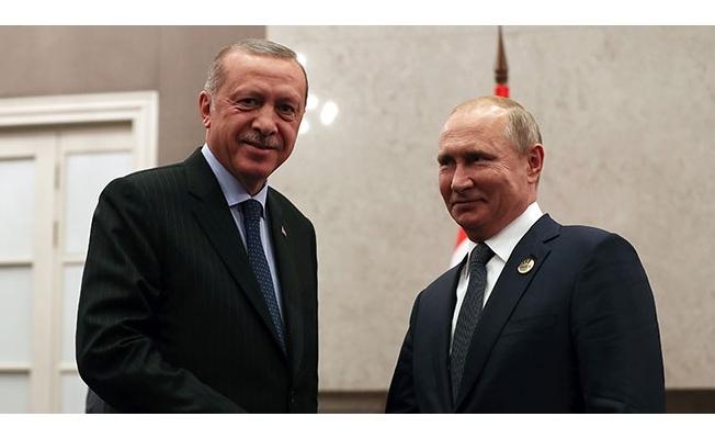 Cumhurbaşkanı Erdoğan Pazartesi Putin ile görüşecek