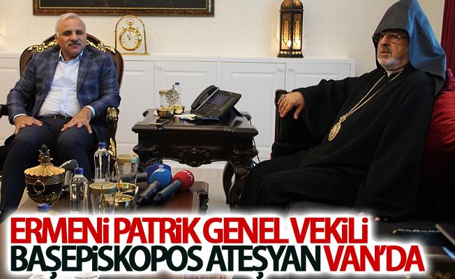 Ermeni Patrik Genel Vekili Başepiskopos Ateşyan Van'da