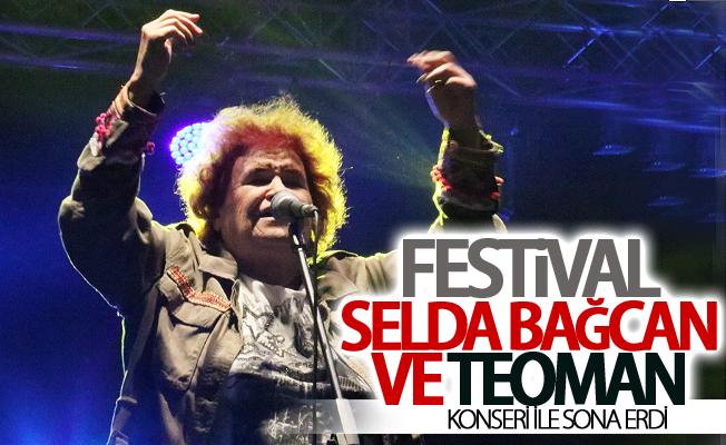 Gençlik festivali Selda Bağcan ve Teoman konseri ile sona erdi