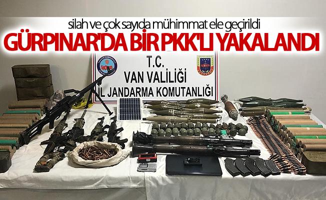 Gürpınar'da PKK operasyonunda bir Pkk'lı yakalandı