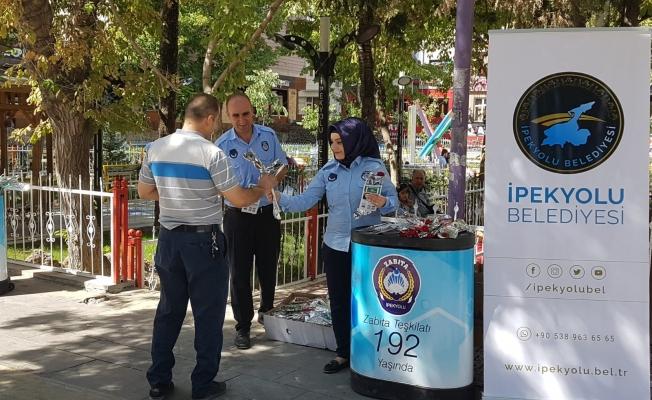 İpekyolu'nda Zabıta Haftası etkinlikleri