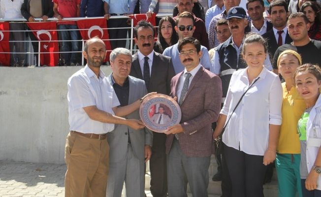 Kaymakam Abdulselam Öztürk onuruna veda yemeği
