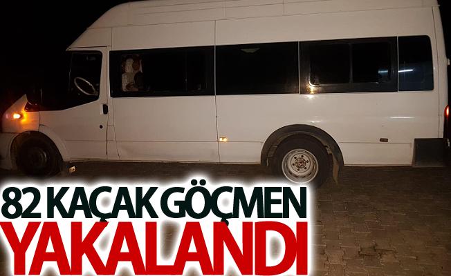 Muradiye'de 82 kaçak göçmen yakalandı