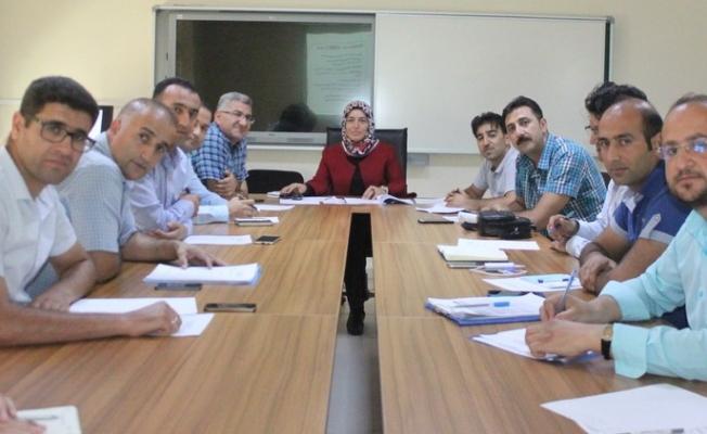 Özel eğitim ve rehberlik hizmetleri il danışma komisyonu toplantısı gerçekleştirildi
