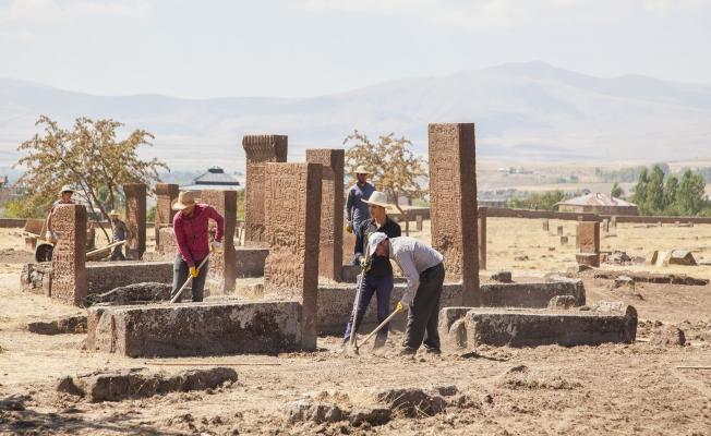 Selçuklu mezarlığında yeşillendirme çalışması yapılacak