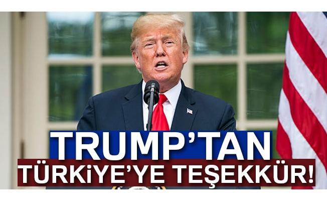 Trump'tan Türkiye'ye İdlib teşekkürü