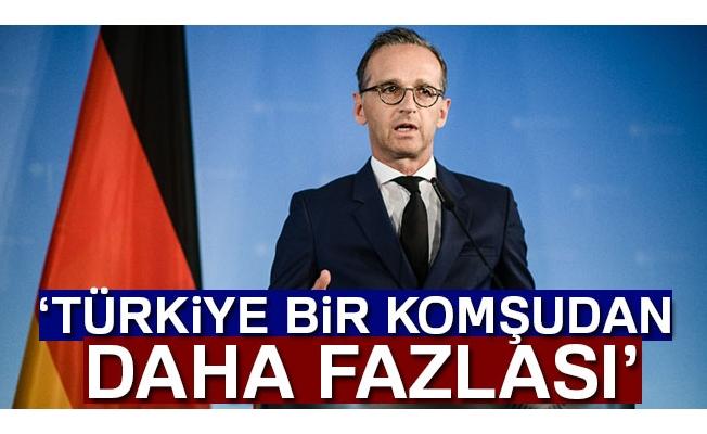 'Türkiye büyük bir komşudan daha fazlası'