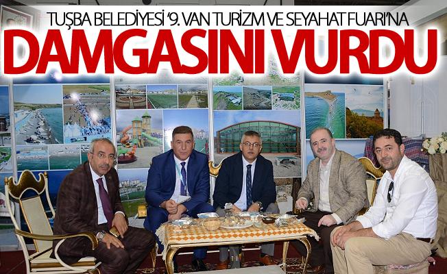 Tuşba Belediyesi '9. Van Turizm ve Seyahat Fuarı'na damgasını vurdu
