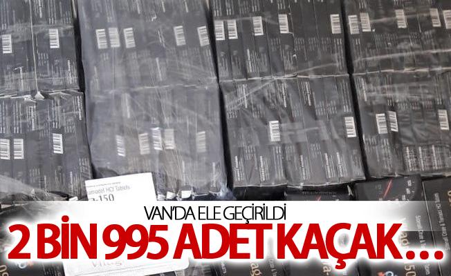 2 bin 995 adet kaçak ilaç ele geçirildi