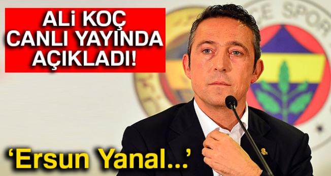Ali Koç, kulüp televizyonuna açıklamalarda bulundu