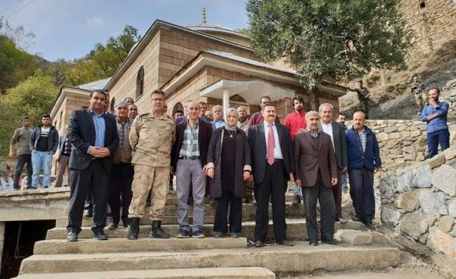 Bahçesaray Kaymakamı Sağıroğlu'nun mahalle ziyaretleri