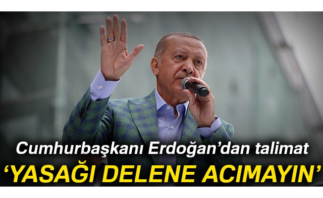 Cumhurbaşkanı Erdoğan: Sigara yasağını delene acımayın