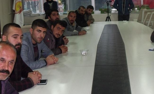 Özalp'ta yarı açık halk pazarı kuraları çekildi