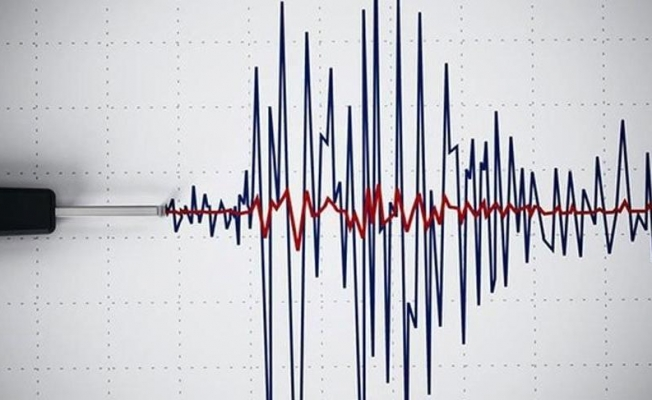 Patnos'ta 4.2 büyüklüğünde deprem