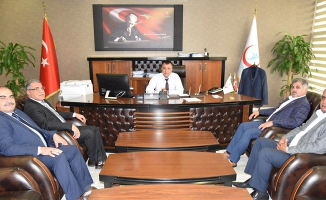 Sağlık Müdürü Sünnetçioğlu'na ziyaret