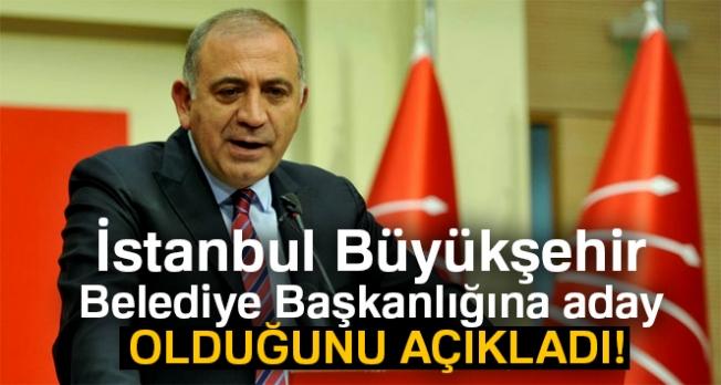 Tekin, İstanbul Büyükşehir Belediye Başkanlığına aday olduğunu açıkladı