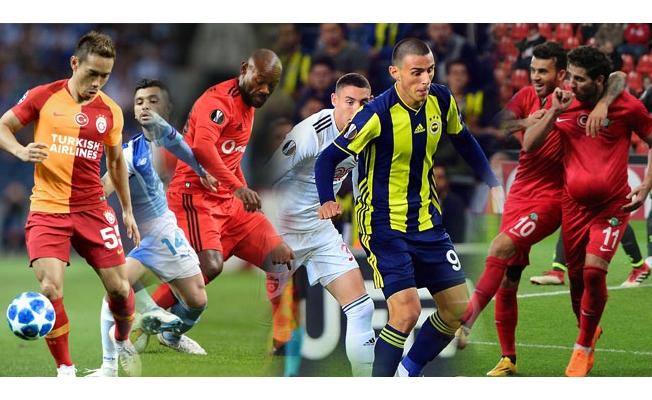 Türk takımları Avrupa'da 4'te 1 yaptı
