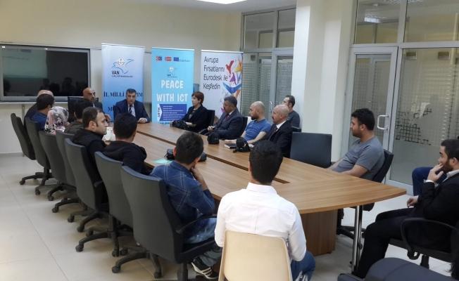 Van'da 'AB projeleri' konulu toplantı