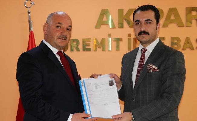 Turan Avcı Edremit'ten Belediye Başkanı adayı oldu