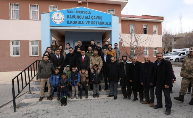 Başkan Vekili Öztürk'ten kırsal mahallelere ziyaret